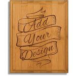 Engraved Bamboo Plaque