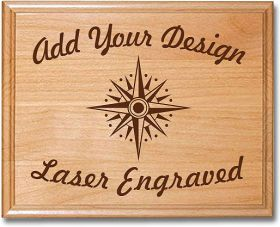 Engraved Wood Plaque